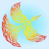Firebird — Stock Vector
