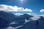 オーストリアの雪山 — ストック写真