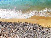 Naturist beaches in Italy — Foto Stock