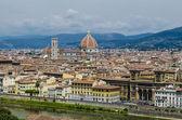 Panoramicznym widokiem Florencja — Zdjęcie stockowe