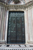 Italian medieval architecture details — Stock Photo