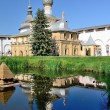Church of Virgin the Hodegetria in Rostov Kremlin Russia with specular reflection. — Stock Photo #65714951