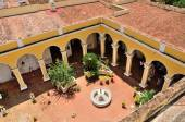 Trinidad Cuba - patio d'une maison — Photo