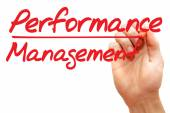 Hand writing Performance Management, business concept — Stock Photo