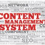 CMS Content Management System word cloud — Stockvektor  #66594953