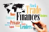 Financing wording — Stock Photo