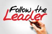 Follow The Leader — Foto de Stock