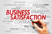 Business satisfaction — Stock Photo