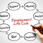 Development life cycle — Stock Photo #67403825