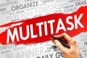 MULTITASK — Stock Photo