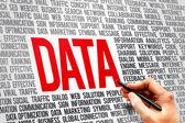 Word Data — Stock Photo