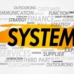 Постер, плакат: SYSTEM