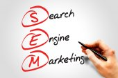 Search Engine Marketing — Stock Photo