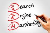 Marketing en buscadores — Foto de Stock
