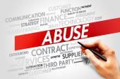 Abuse — Stock Photo