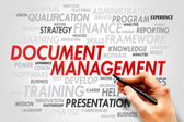 Document Management — Stock Photo