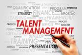 Talent Management — Stock Photo