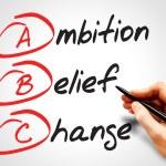 Ambition Belief Change — Stock Photo #68220489
