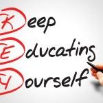 Keep Educating Yourself — Stock Photo #68221587