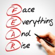 Face Everything And Rise — Stock Photo #68227975