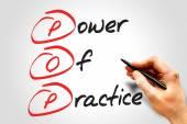 Power Of Practice — Stok fotoğraf
