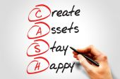 Create Assets Stay Happy — Stock Photo