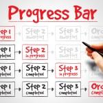 Progress Bar — Stock Photo #68256119