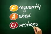 Frequently Asked Questions — Stock Photo