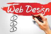 Web Design — Zdjęcie stockowe