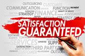 Satisfaction Guaranteed — Stock Photo