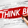 THINK BIG — Stock Photo #68970285