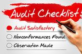 Audit Checklist — Stock Photo