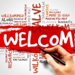 Welcome — Stock Photo #69092041