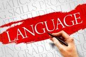 LANGUAGE — Stock Photo