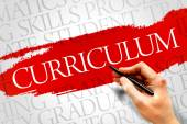 CURRICULUM — Stock Photo