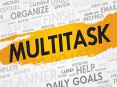 MULTITASK — Stock Vector