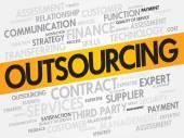 Outsourcing — Stock Vector