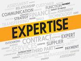 Expertise — Stock Vector