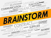 BRAINSTORM — Stock Vector