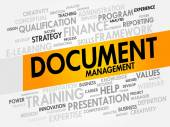 Document Management — Stock Vector
