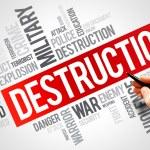 DESTRUCTION — Stock Photo #77287312