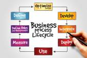 Business Process Lifecycle — Stock Photo