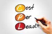 Cost Per Lead — Stock Photo