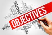 Objectives — Stock Photo