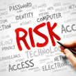 RISK word cloud — Stock Photo #77296946