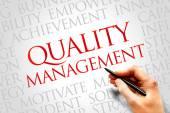 Quality Management — Stock Photo