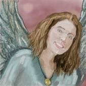 Portrait of angel — Stok fotoğraf
