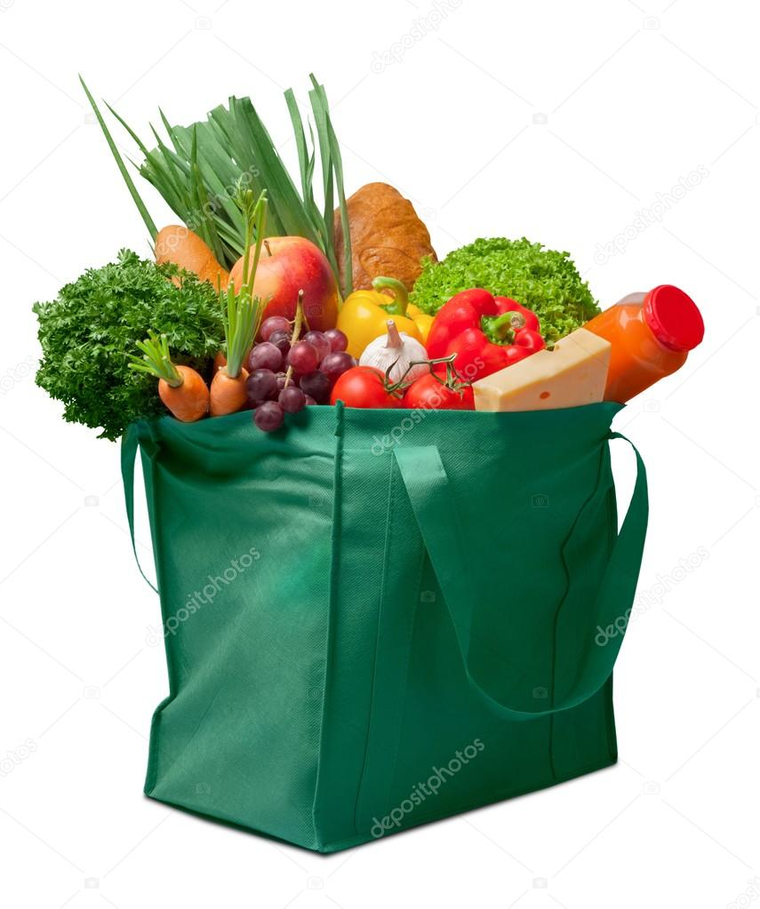 Full shopping bag — Stock Photo #118555844