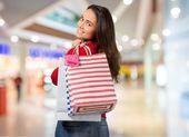 Shopping, Credit Card, Women. — ストック写真