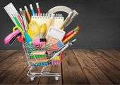 Education, Back to School, Shopping. — Stock Photo